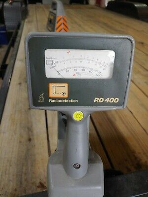 Radiodetection RD400SL Buried Pipe and Cable Transmitter & Locator ???Working???