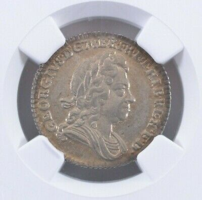 1723 SSC Great Britain Sixpence ESC-1600 NGC MS 63