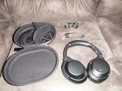 Sony WH-1000XM3 On-Ear Wireless Noise-Canceling Headphones BLACK