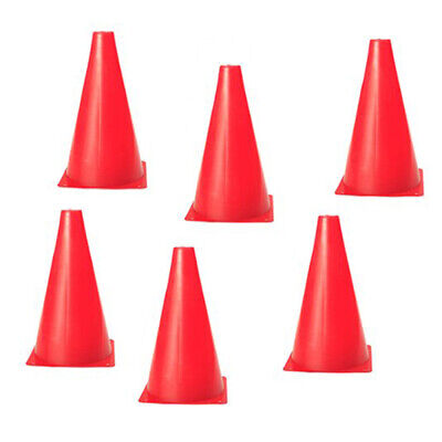 6 PCS 18cm Training Cones Soccer Skating Sports Training Obstacles for Outdoors