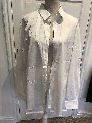 Dolce And Gabbana Gold, Size 18/45 Mens White/ Cream Shirt