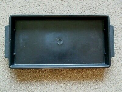 "Black Rectangular Tray Suitable For Oasis. 5"" Wide X 10"" Long X 1"" Deep"
