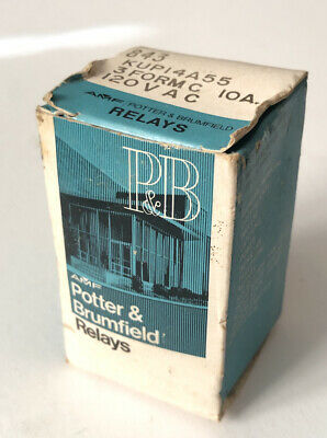 Potter and Brumfield AMF KUP14A55 843 - 3PDT 120VAC 10A Relay Made in USA
