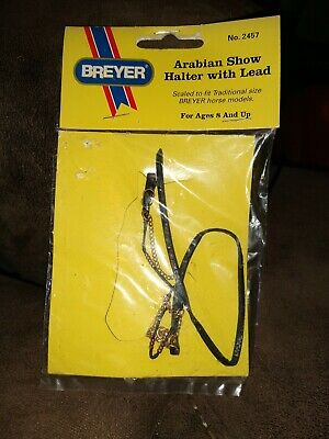 Breyer Arabian Show Halter With Lead Traditional Size