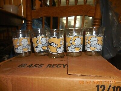 5-Welch's Jelly 1994 Looney Tunes Series  #4 Glass Tumbler