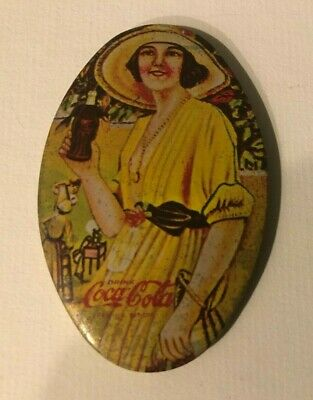 Vintage Coca-Cola Pocket Small Purse Mirror
