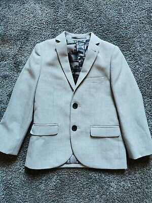 NEXT Boys Full Suit Worn Once For Wedding Age 4