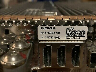 Nokia ASIAA FSMF 5G System Module 474403A.101, Made in Finland, guaranteed.