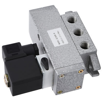 Solenoid Valve G1/4in 2 Position 4 Way Single Control Directional Q24DH‑8 Hot