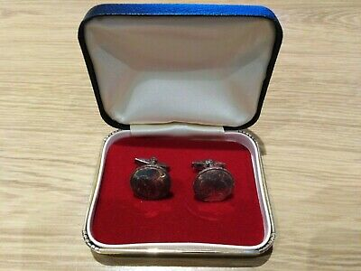 Vintage Pair of Ace Of Spades Cuff Links
