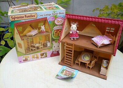 Sylvanian Families Cosy Cottage Starter Home House. Boxed. 5093. Wirral Collect