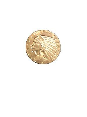 1914 Gold United States $5 Dollar Indian Head Half Eagle Coin