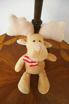 Brand New Kinder Joy Plush Moose 12 Inches Long Free Shipping