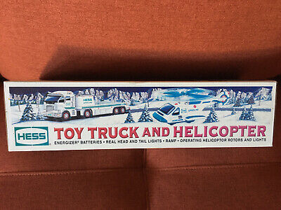 BRAND NEW 2006 HESS Toy Truck and Helicopter