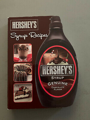Hershey's Syrup Recipes   Shaped Hershey's Cookbook / Boardbook Good Condition