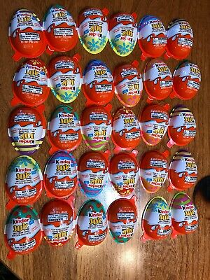 Toy Only! Kinder JOY HOLIDAY EDITION EGGS EASTER SPRING TOY SURPRISES LOT/30!