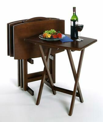 Winsome Wood 5pc Oversize TV Table