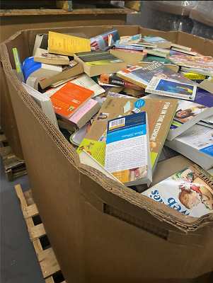 1 Pallet Of Unsearched Used Hardback Books Wholesale Will Ship 270 00 Picclick