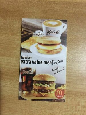 10 MCDONALDS GOLD FOIL EXTRA VALUE MEAL 12//2021 Use NATIONWIDE EXPIRES