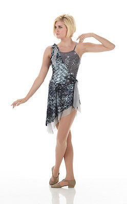 The Edge Dance Costume Quick Step Lyrical Ballet Dress New Clearance Child Large