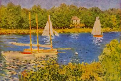 Claude Monet View To The Plain Of Argenteuil Poster 24x36 inch