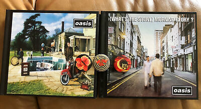 Oasis (What's The Story) Morning Glory ? And Be Here Now Deluxe Sets Ltd Badges