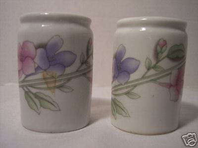 Flower Salt and Pepper Shakers