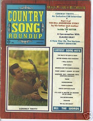 Conway Twitty  Covers Country Song Roundup 1970