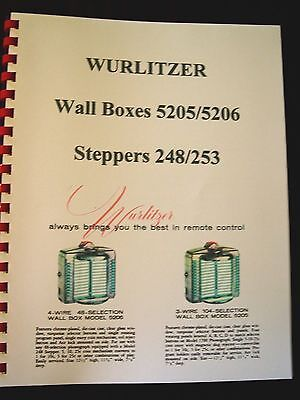 Wurlitzer 5205/5206 Wall Box & 253 Stepper Manual