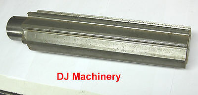 """HUGE Tapered Reamer Large Mill Cutter Taper 14"""" Long Extra Length Ream Cutting"""