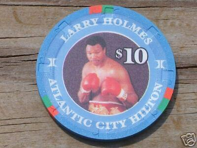 $10 Hall Of Fame Heavyweight Chip Atlantic City Hilton