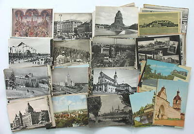 OLD LOT OVER 100 POSTCARD EUROPE TOWN CITY VIEW x
