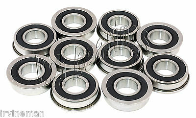 FR4 2RS Sealed Flanged Bearing 1//4 x 5//8 x .196 USBB 2P146 FR4 RS 10 Pk