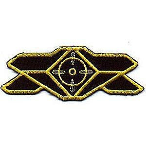 Babylon 5 Uniform Security Insignia Chest Patch