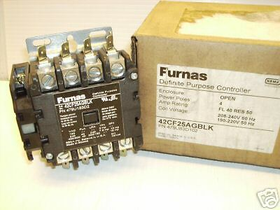 *** New In Box ***  Furnas Siemens 42Cf25Agblk Definite Controller