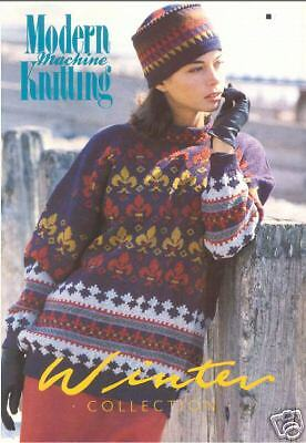The Winter Collection - Knitting Machine Patterns