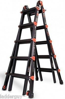 22 1A Little Giant Ladder PRO SERIES w/ 3 acc ladders