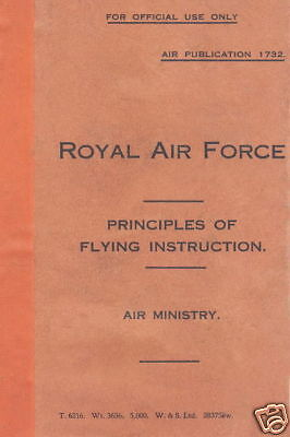 Ap1732 Royal Air Force-Principles Of Flying Instruction