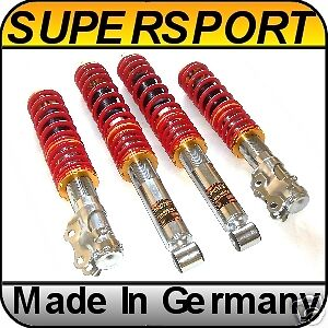 SUPERSPORT Coilover Suspension VW Golf MK3 Jetta 3 GTI