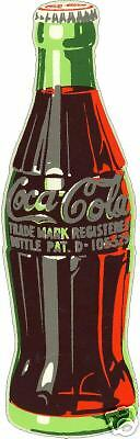 COKE  BOTTLE VINYL STICKER (A608)