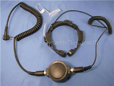 Throat Microphone for Hytera Blackbox Motorola Spirit Mag One CLS XTN SP CP100