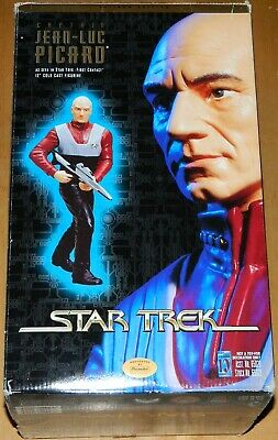 Star Trek First Contact Movie Captain Jean-Luc Picard Cold Cast Figurine SEALED