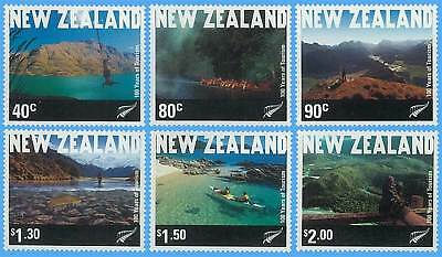 New Zealand Stamp, 2001 100 Year of Tourism, Places