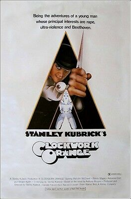 Poster Arancia Meccanica Kubrik Clockwork Orange Big #1
