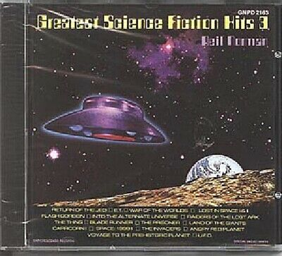 Greatest Science Fiction Hits 3 Soundtracks Music CD