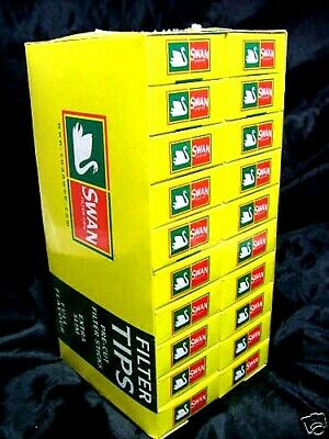 4800 Swan Filter Tips Extra Slim 40 Boxes New & Fresh