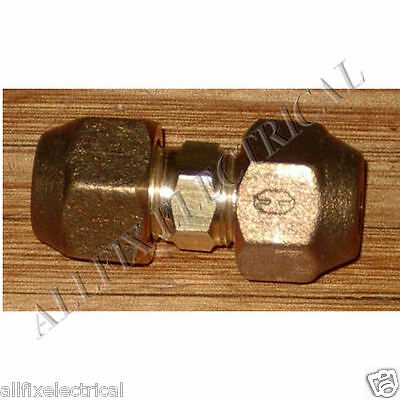 "Brass 5/16"" SAE Flare Union With Flare Nuts - Part No. RF421AKIT"