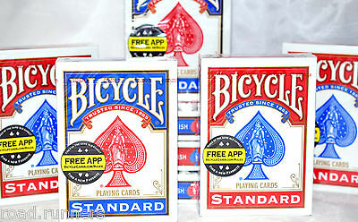 12 x Decks Of Bicycle Playing Cards Sealed Poker NEW