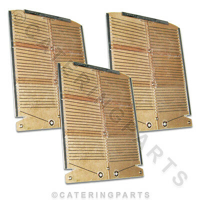 Genuine Dualit Toaster Heating Elements Full Set Of 3 For Model 6 (Six) Bun
