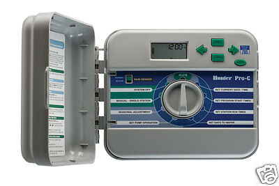 HUNTER PRO-C CONVENTIONAL 12 ZONE INDOOR TIMER CONTROLLER PCC1200i